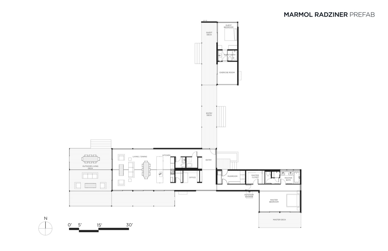 Modular home utah floor plans modern prefab modular for Contemporary floor plans for new homes