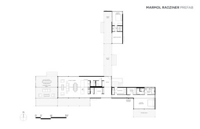 Modern modular home floor plan Utah