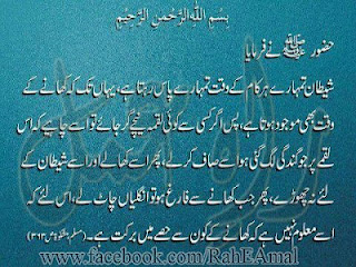 Saying of the prophet PBUH
