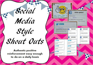https://www.teacherspayteachers.com/Product/Social-Media-Style-Shout-Outs-2083353