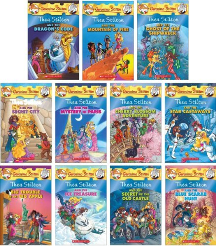 Geronimo Stilton And Thea They Are Brothers Sisters Write Fantastic Books The Very Pleasing