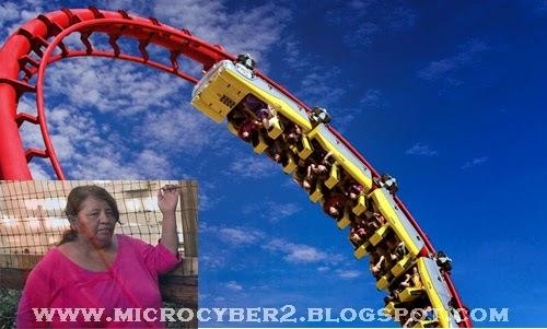 Terlempar Dari Roller Coaster Di Six Flags Texas