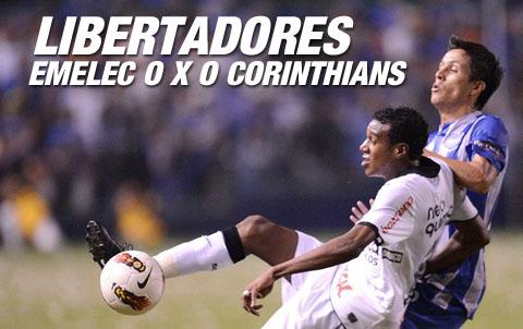 Libertadores 2012 - Emelec 0 x 0 Corinthians