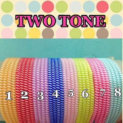 Pelindung Kabel Spiral Two Tone