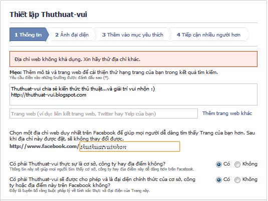 Cách tạo lập trang trên Facebook - Create Page Fan FB