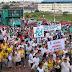 Dez mil católicos participaram da Caminhada Missionária em Manaus