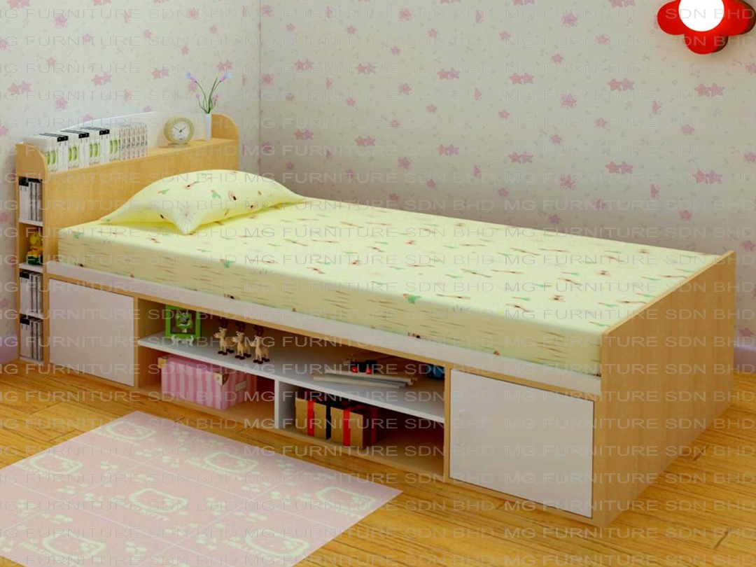 rd 187 11 single bed with storage underbed cupboard storage