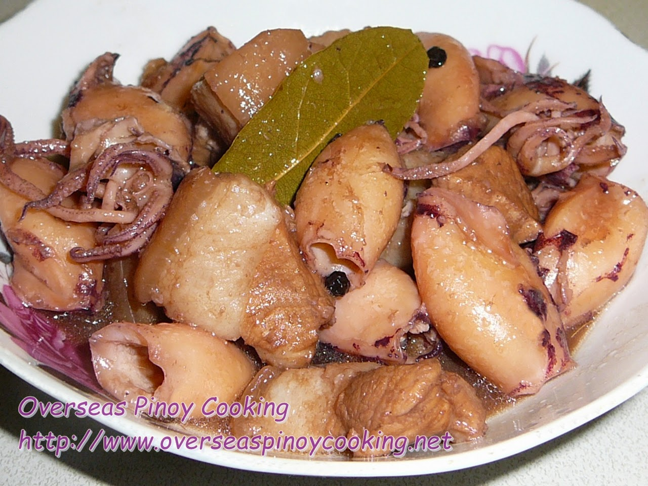 Squid and Pork Adobo