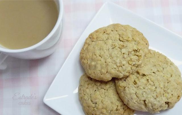 receta de galletas de avena - 01