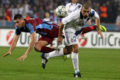 Trabzonspor 1 - 1 Inter Milan (2)