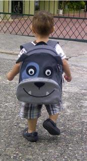 mochila perrito