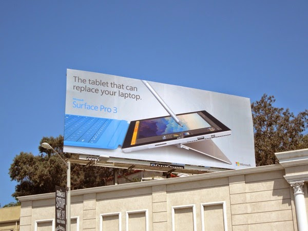 Microsoft Surface Pro 3 tablet that can replace your laptop billboard