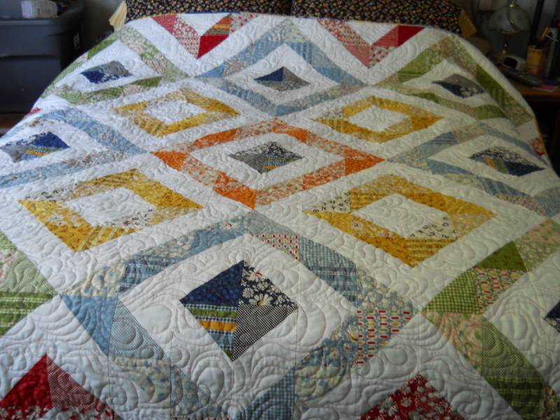 how to make a cascade quilt