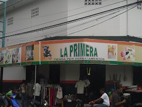 """""""LA PRIMERA"""" TIENDA POR DEPARTAMNETOS"""