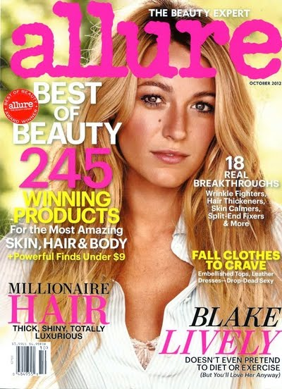 Allure Magazine Cover Blake_Lively