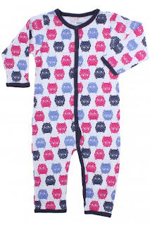 owl print baby clothes