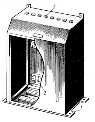 Монтажный макет электрооборудования