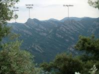 Vistes sobre la Serra de Picancel