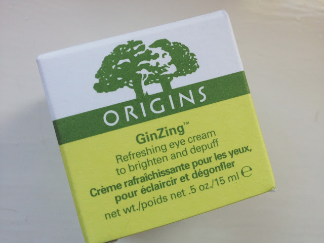 Origins, GinZing, eye cream, skin care, beauty