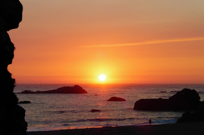 Oregon, Coast, Pacific Ocean, Sundown, Dusk, Summer, Travel, Lumix ZS-25