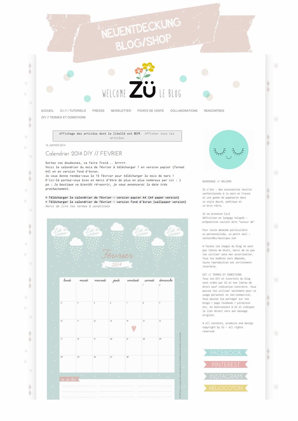 Blogliebling Zü