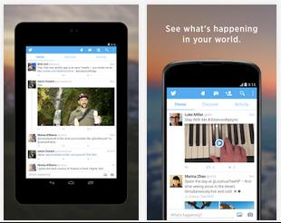 twitter untuk android