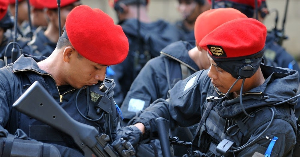 Indonesian Special Forces Command Kopassus Global