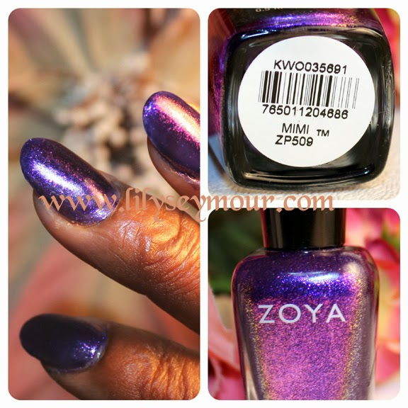 Fun Fierce Fabulous Beauty Over 50!: Nails ~ Zoya Mimi for Fall ...