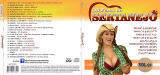 CD Os Feras Do Sertanejo – Vol.2 (2015)