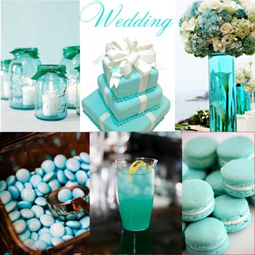 Matrimonio Tema Aqua : Daia festa cia decoração azul tiffany
