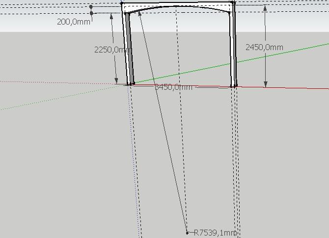 je fais construire ma maison calcul du rayon de la poutre. Black Bedroom Furniture Sets. Home Design Ideas
