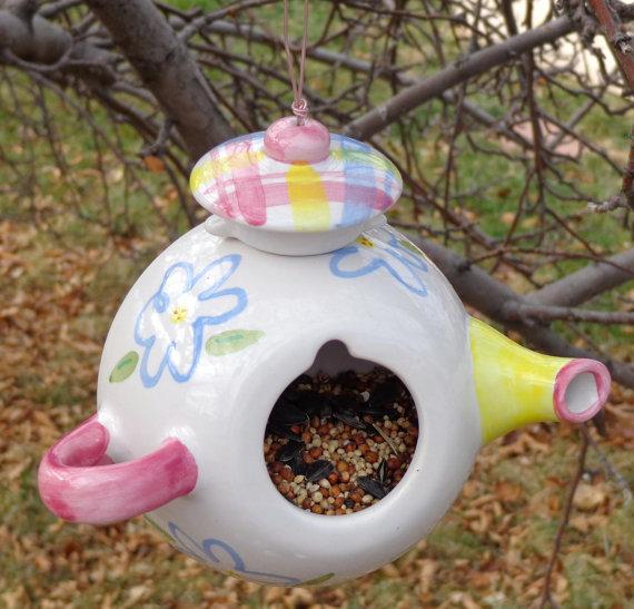 Декоративные кормушки для птиц своими руками