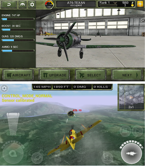 download Game FighterWing 2 Flight Simulator Mod Unlimited