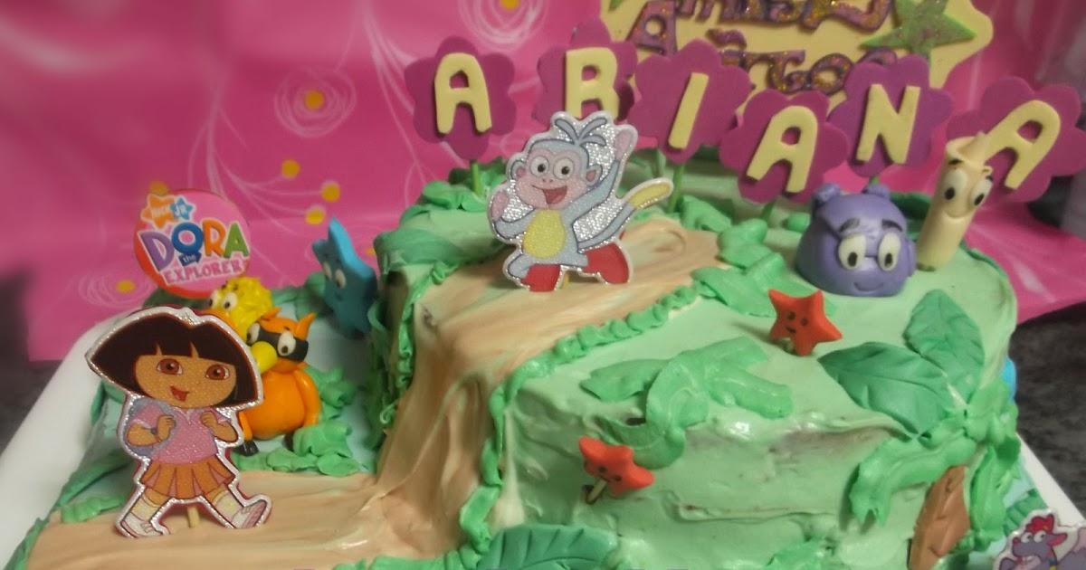 Mindolina en la cocina tarta dora exploradora para ariana - Dora la exploradora cocina ...