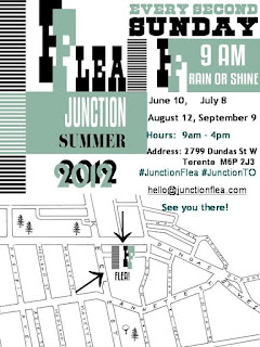 Junction Flea Antique Market, Summer 2012, Location: 2799 Dundas Street West, Toronto, Presented by TAS DesignBuild