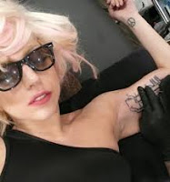 lady gaga tattoos