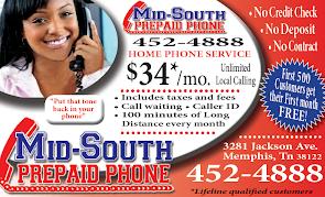 Prepaid Phone Service