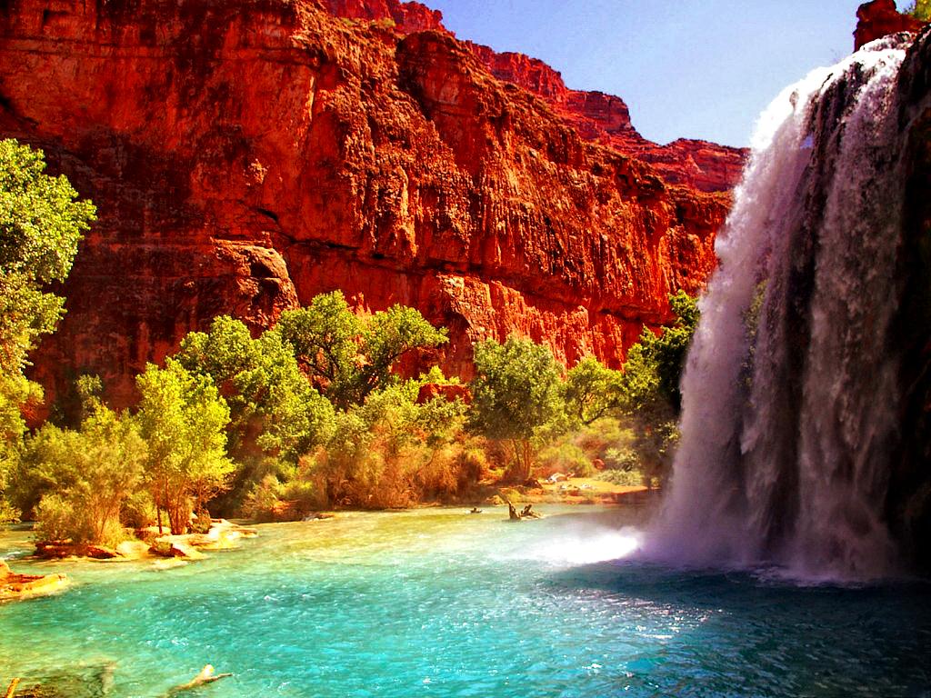 Facebook Cover: Top 30 Beautiful water falling wallpapers ...