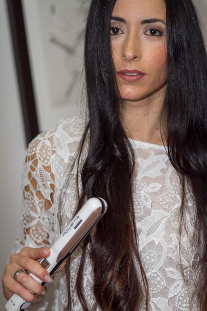 Plancha-Pelo Respectissim Liss&Curl Withorwithoutshoes Rowenta MBFWM Blog de Moda España Valencia