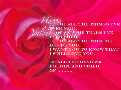 Meaning Short Valentine's Day Poems 2014