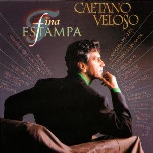 Carátula del disco Fina estampa (Caetano Veloso 1994)