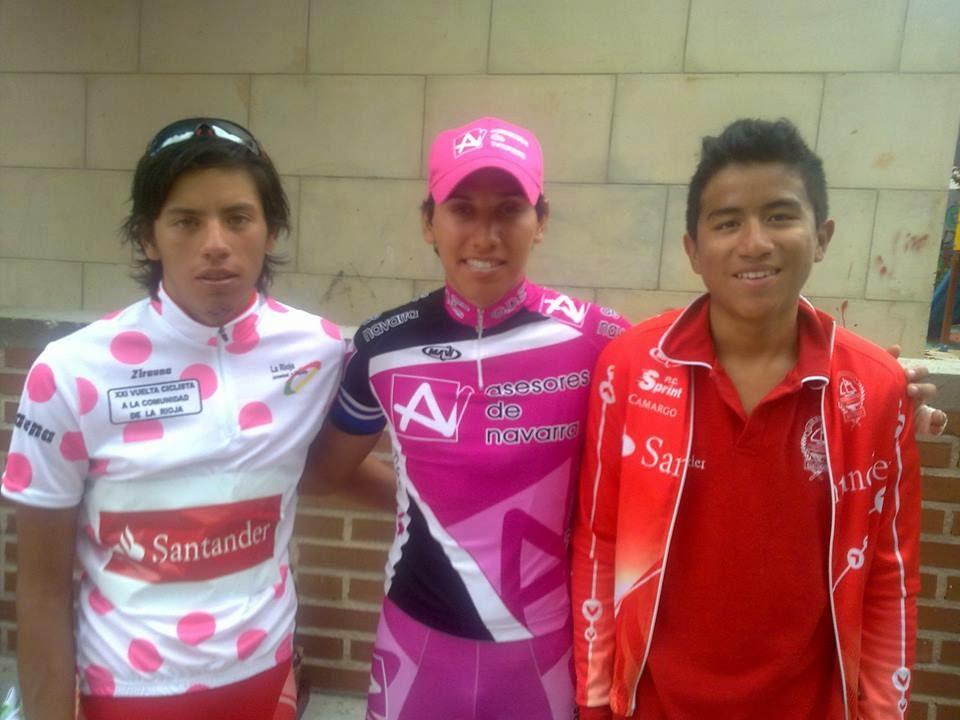 Ciclistas Colombianos Junior en Cantabria