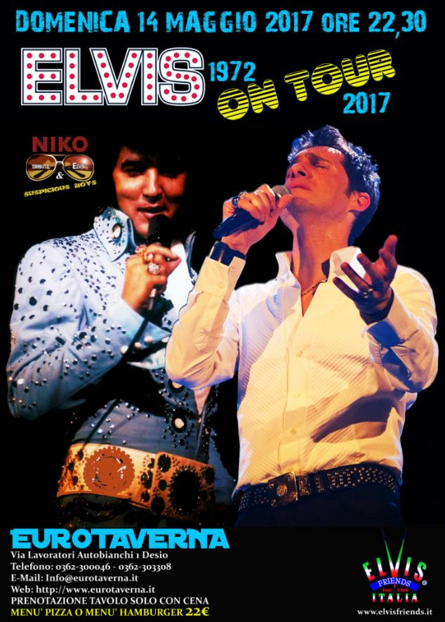 ELVIS ON TOUR - Elvis Tribute