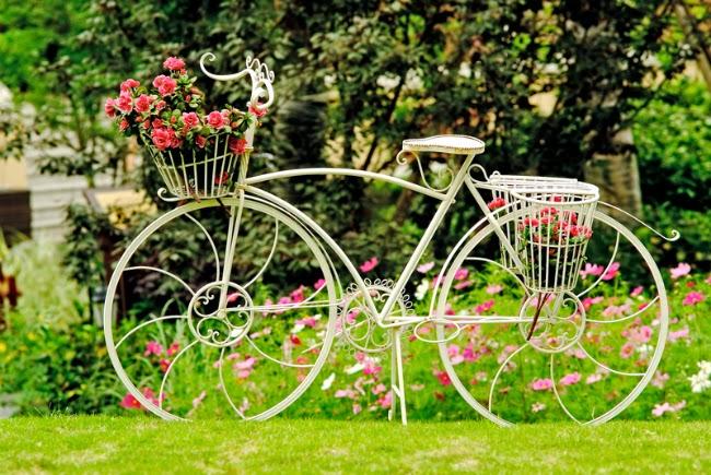 Ati vazut flori pe bicicleta in Craiova?
