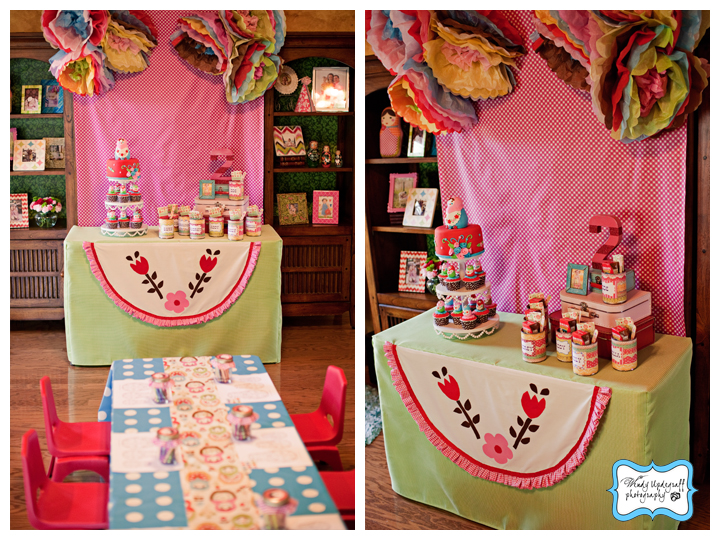 The Littlest Matryoshka 2 year old birthday party!