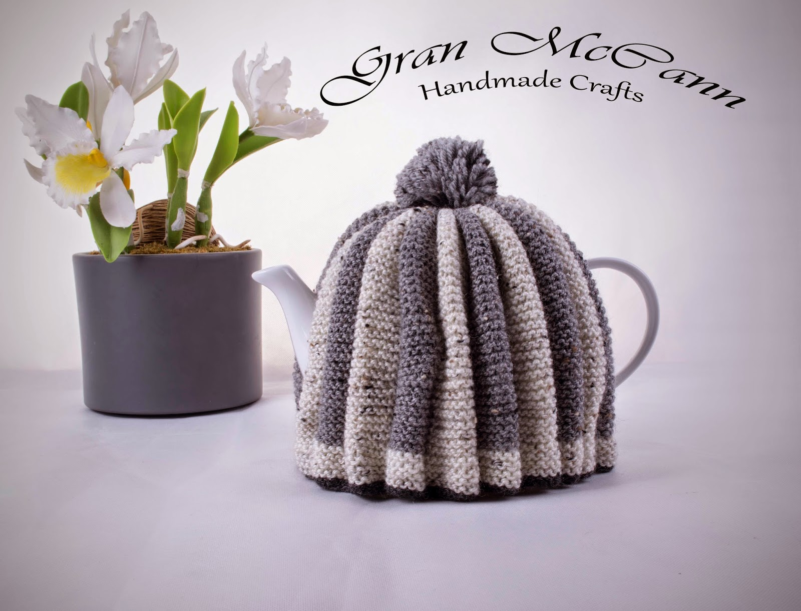Tea cosy, irish made, handmade, knitted, tea, teapot, aran, craft