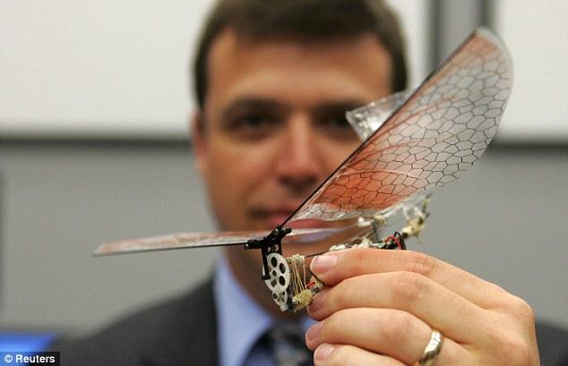 Pesawat terbang kecil seperti serangga AS untuk jadi spy
