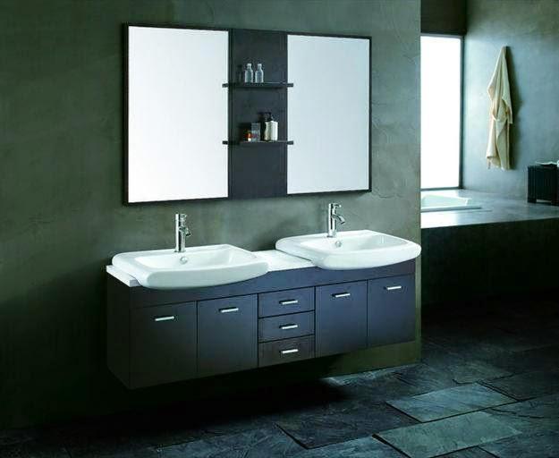 bathroom sink cabinets modern