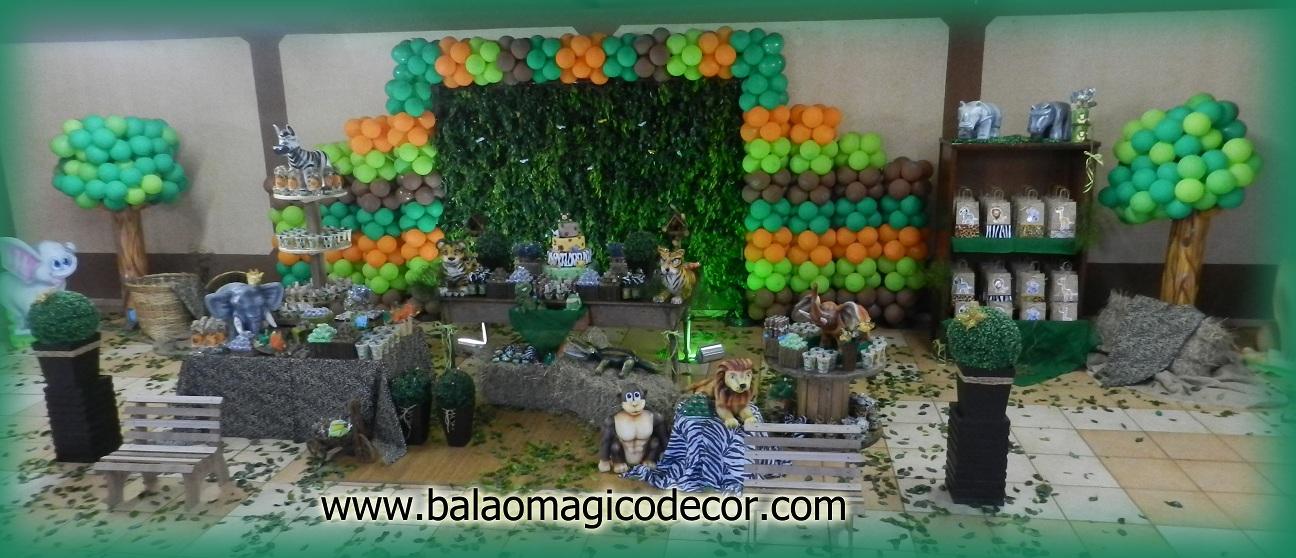 Agora n s somos festeirah decor safari no r stico for Agora decoration