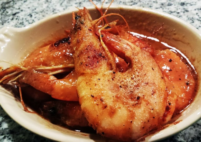 Red Kitchen Recipes: Miso Butter Shrimp